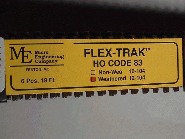 Code 83 Flex-Trak Weathered