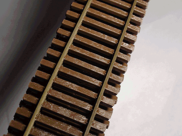 HO-SCALE Code 55 Flex Track, Weathered