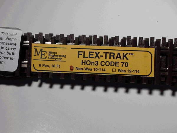 Flex-Trak, Code -70 Non-Weathered