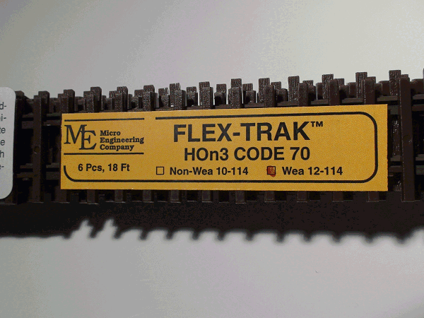 Flex-Trak, Code 70 WEATHERED