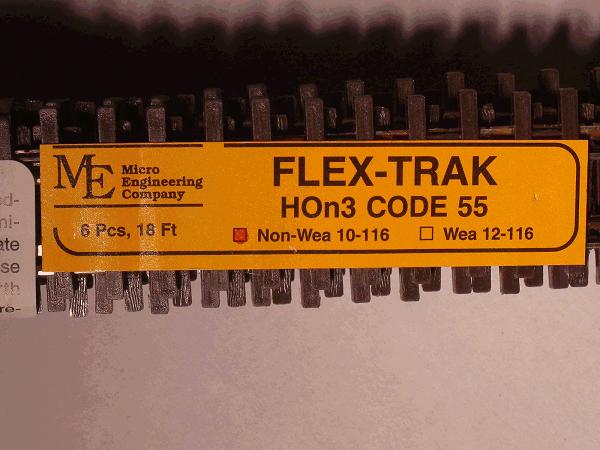 Flex-Trak 10-116 Code 55 Non Wea 6PC