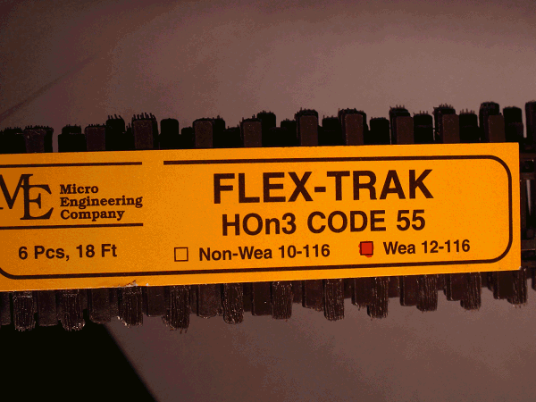 Flex-Trak Code 55 WEATHERED BIGDISCOUNTTRAINS