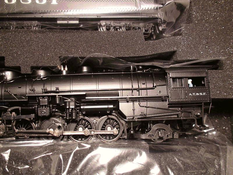 ATSF 3800 Class 2-10-2, 3851, Modernized Version DC/DCC SOUND