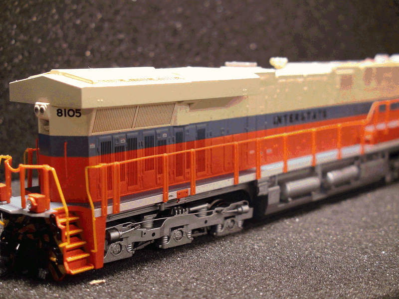 GE ES44AC, NS 8105, Interstate Railroad<br>Heritage Paint