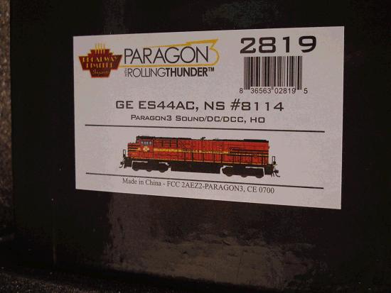 GE ES44AC, NS 8114, Norfolk Southern<br>Heritage Paint