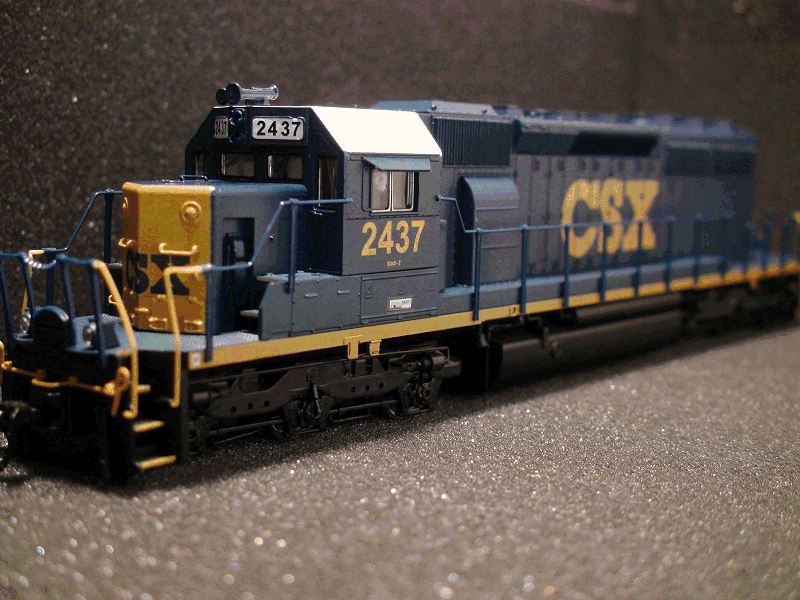 EMD SD40-2 CSX ROAD 2437 W/PARAGON 2 SOUND/DC/DCC