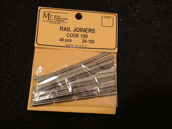 48PC Rail Joiners, Code 100