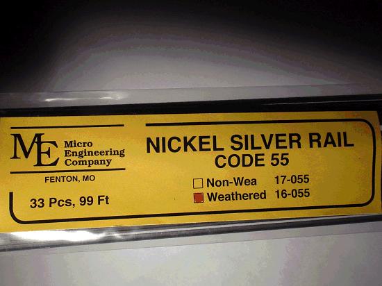 Weathered Rail, Code 55 NS.16-055