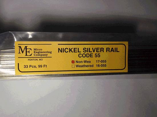 Non-Weathered Rail, Code 55