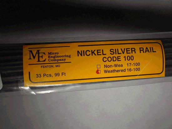 Weathered Rail, Code 100 33 pcs