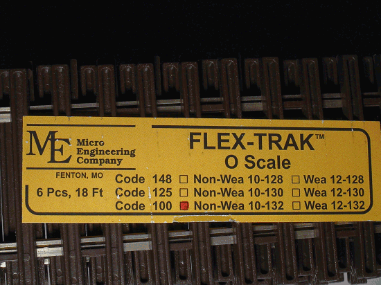 Flex-Trak, Code 100 Non-Weathered