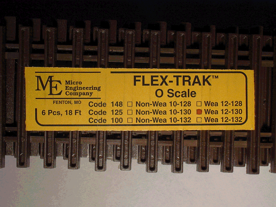 Flex-Trak, Code 125 Weathered