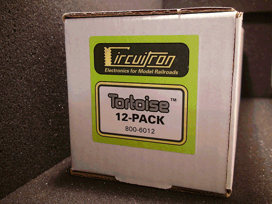 TORTOISE 12- PACK SWITCH MACHINES