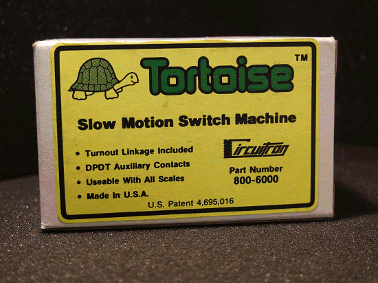 TORTOISE (1) SWITCH MACHINE