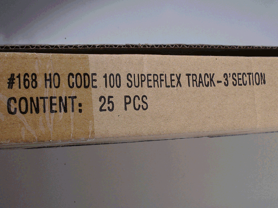 HO ATLAS 168 CODE 100 SUPER FLEX TRACK 36