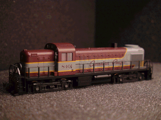 N-SCALE KATO 176-4601 ALCO RS-2 CANADIAN PACIFIC ROAD CP 8401
