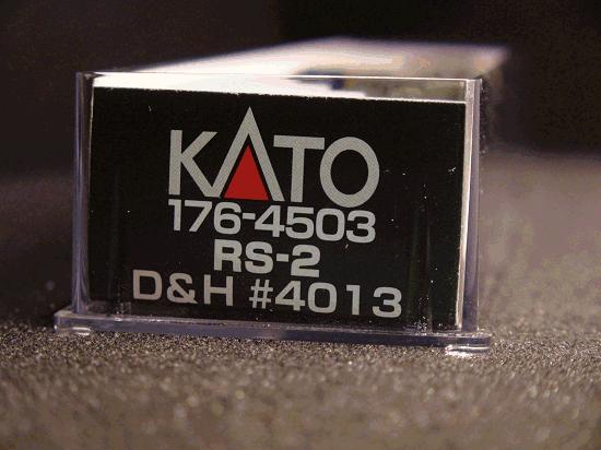 N-SCALE KATO 176-4503 ALCO RS-2 DELAWARE & HUDSON ROAD 4013