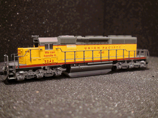 N-SCALE KATO 176-4813 UNION PACIFIC SD40-2 EARLY UP ROAD 3242