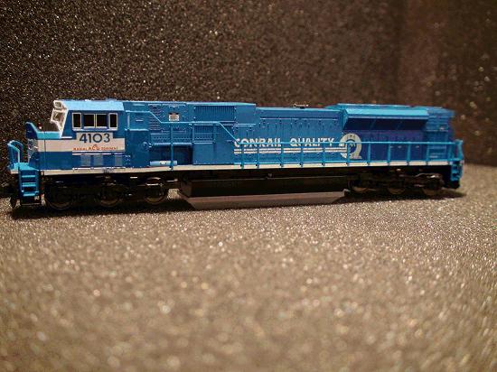 N-SCALE KATO 176-5501 SD80 MAC CONRAIL CR 4103