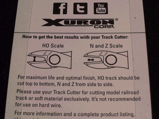 XURON 2175B TRACK CUTTER HO/N/Z