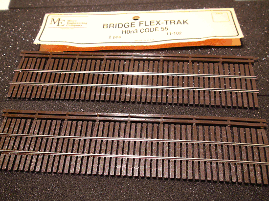 Micro- Engineering 11-102 HOn3 CODE 55 BRIDGE FLEX-TRAK