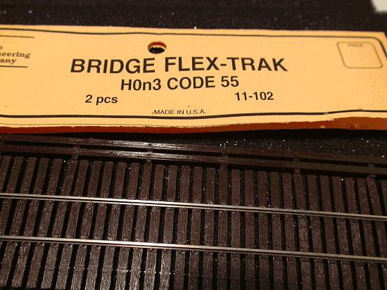 Micro- Engineering 11-102 HOn3 CODE 55 BRIDGE FLEX-TRAK