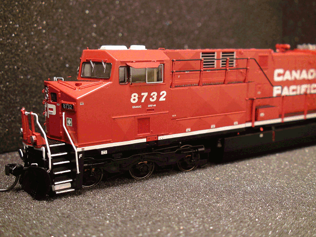 ES44AC CANADIAN PACIFIC 8732 Sound Locomotive