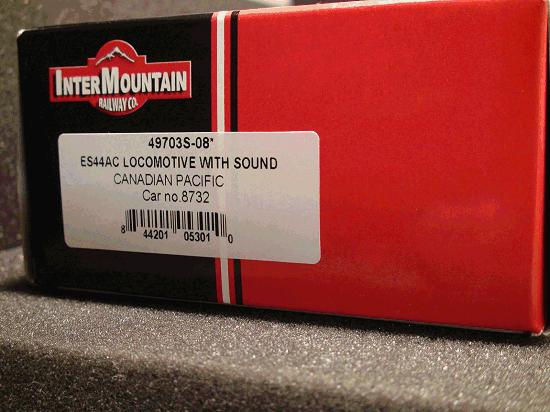 ES44AC CANADIAN PACIFIC 8732 Sound Locomotive