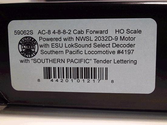 AC-8 CAB FORWARD 4197 LOKSOUND