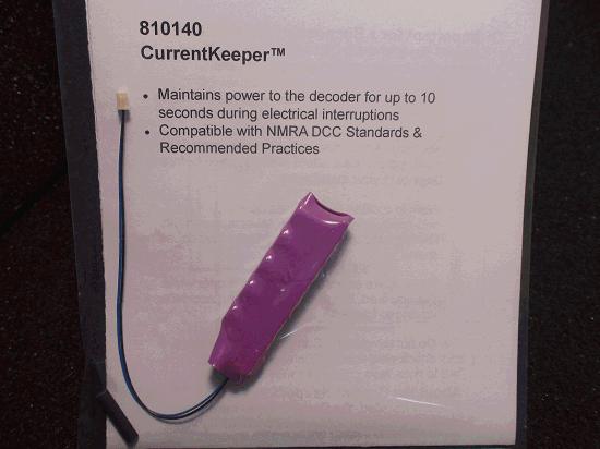 SOUNDTRAXX PN  810140 CURRENTKEEPER MAINTAINS DECODER PERFORMANCE