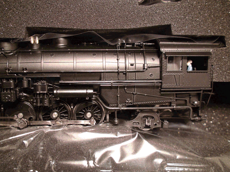 HO-BROADWAY 2199 ATSF 3800 Class 2-10-2, NO NUMBER Modernized Version DC/DCC SOUND
