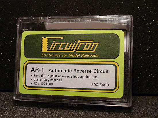 CIRCUITRON TORTOISE 800-5400 AR-1 AUTOMATIC REVERSE CIRCUIT