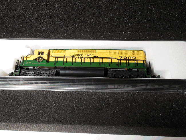 N-SCALE KATO 176-3115 EMD SD45 READING ROAD #7602