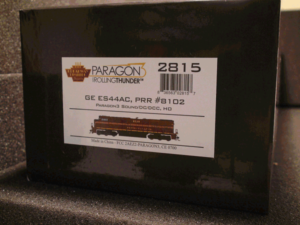 GE ES44AC, NS 8102, Pennsylvania Railroad<br>Heritage Paint