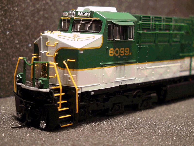 GE ES44AC, NS 8099, Southern Railway<br>Heritage Paint